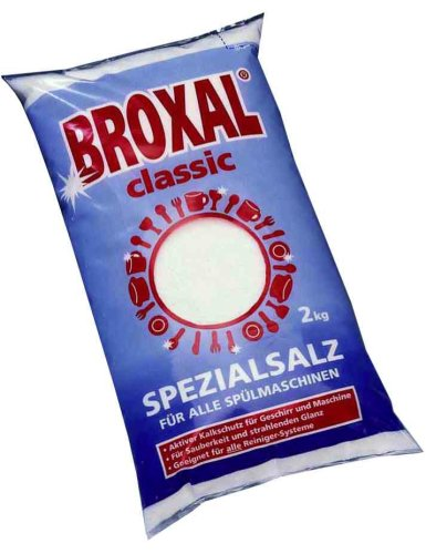 Preisvergleich Produktbild Spezialsalz für Spülmaschinen, feinkörnig, 2 kg Beutel