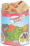 Unbekannt Aladine 3003308 - Stampo Kids Dinosaurier, 16-teilig