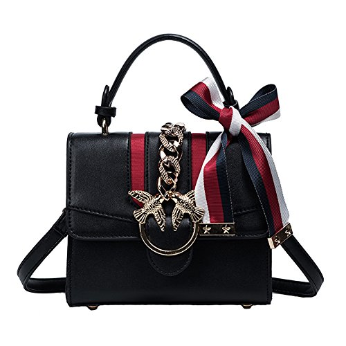A&N, Borsa a zainetto donna Small Black