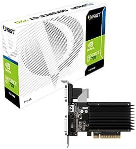 Palit NEAT7200HD06H Carte graphique Nvidia GeForce GT720 797 MHz 1024 Go PCI-Express