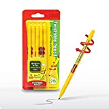 dckr Sicher, drehbarer 2B Bleistift 5x für Anfänger ohne Schneiden für Zeichnen und...