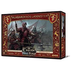 Edge Entertainment- Canción de hielo y fuego el juego de miniaturas - Alabarderos Lannister, Color (EECMSI22)