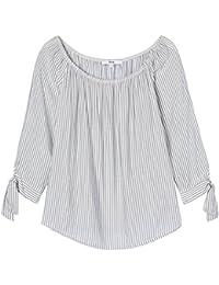 FIND Damen Schulterfreie Bluse