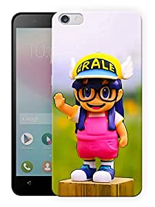 """Humor Gang Cute Girl With Glasses Printed Designer Mobile Back Cover For """"Huawei Honor 4X"""" (3D, Matte Finish, Premium Quality, Protective Snap On Slim Hard Phone Case, Multi Color)"""