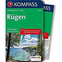 Rügen: Wanderführer mit Extra-Tourenkarte 1:50.000, 50 Touren, GPX-Daten zum Download (KOMPASS-Wanderführer, Band 5003)