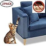 Awaken Kratzschutz für Möbel, 2 Stück, transparent, hochwertig, strapazierfähig, flexibel, Polyurethan, Schutz für Haustiere, Couchs, schützt vor Kratzern und Möbeln