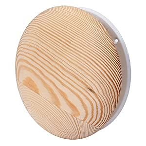 Europlast Sauna Anemostat Tellerventil Zuluft Abluft Holz Deckenventil Metall Luftventil Ø 125 mm, kd125