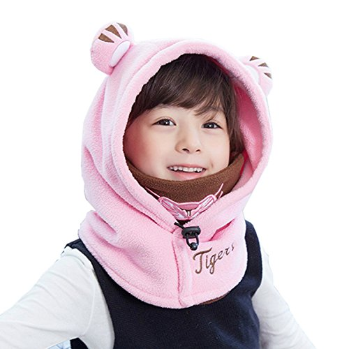 TRIWONDER pasamontañas Sombrero niños máscara térmica