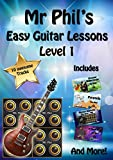 Mr Phil's Easy Guitar Lessons: Level 1 (English Edition)
