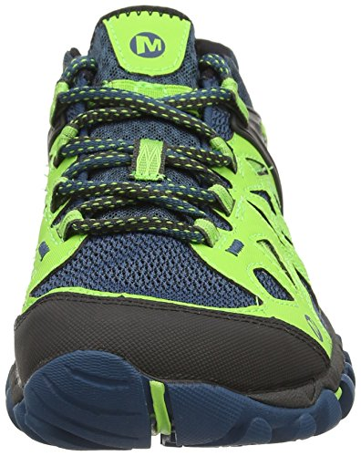Merrell All Out Blaze Aero Sport, Chaussures randonnée hommes Basse Multicolore - Multicolor (Blue/Green)