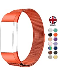 9634928d8f13 STAY Active Replacement Strap for Fitbit Charge 2 - Milanese Loop