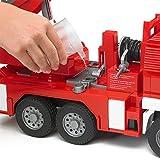 Bruder 02771 - MAN Feuerwehr mit Drehleiter, Wasserpumpe und Light & Sound Modul Vergleich