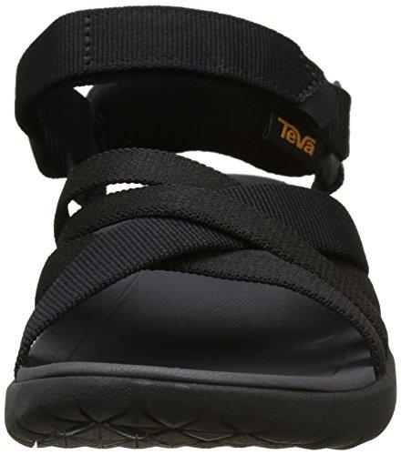 Teva Sanborn Sandal W's, Scarpe da Atletica Leggera Donna Nero (Black)