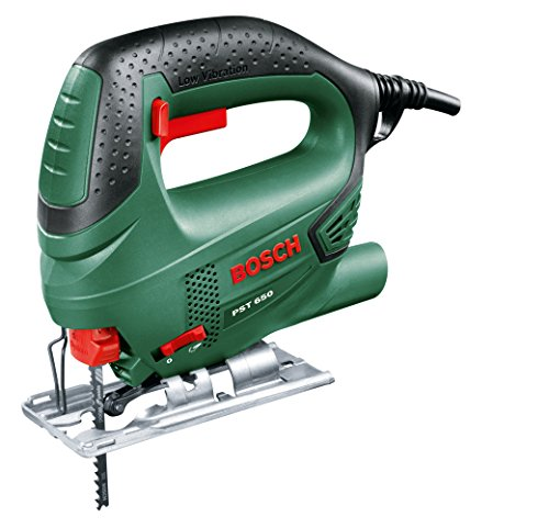Bosch 06033A0700 PST 650 Seghetto Alternativo Compact Easy, 500 W, Nero/Green
