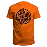 187 Straßenbande Logo T-Shirt orange/schwarz (XL)