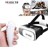 VR BOX lunettes Realta'virtuel 3d jeux film 360° avec contrôleur Bluetooth SC
