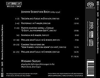 Suzuki Spielt Orgelwerke Von Bach 1