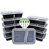 Best Freshware Meals - Freshware 10-Pack 2 Compartment Bento Lunch Boxes Review