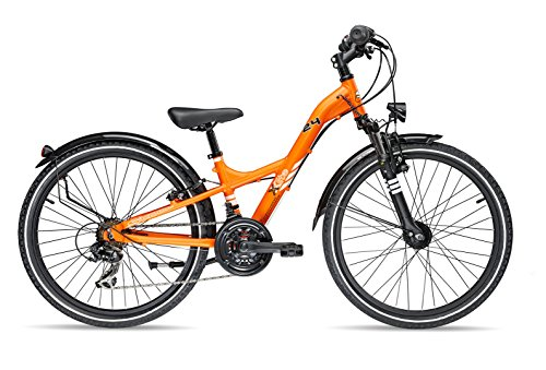 s'cool XXlite comp 24-21 darkorange matt 2017 Kinderfahrrad