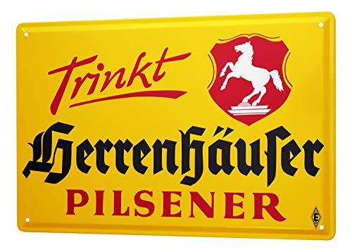 Blechschild Privatbrauerei Herrenhausen Herrenhäuser Biere 20x30 cm