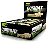 Best Protein Low Carbs - Muscle Pharm Combat Crunch Bars - 63g X Review