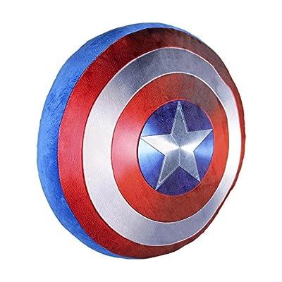 "Marvel 2600000123 35 cm ""Captain America Shield"" Cushion - low-cost UK light store."