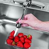 #7: Zollyss 360-degree Rotating Adjustable Water Saving Aerator Kitchen Faucet Tap Nozzle Faucet Filter Kitchen Accessories