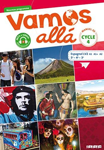 Vamos allá Cycle 4 LV2 - Livre (Vamos allá LV2) por Arnaud Hérard