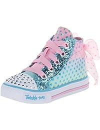 Skechers ShufflesPixie Bunch - botas de caño bajo de material sintético niña