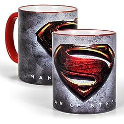 Superman - Taza logotipo el Hombre de Acero - Man of Steel