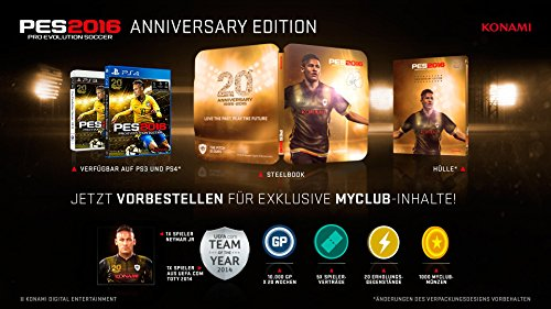 PES 2016 – Anniversary Edition [PlayStation 4] - 2
