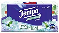 Tempo Pocket Handkerchief Fragrance Edition - 4 Ply (9 Pulls, Pack of 12)