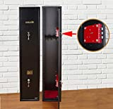 Ultimate Safe® 3 Shotgun Gun Safe Cabinet With Unique Triple Blade Lock® Compliant
