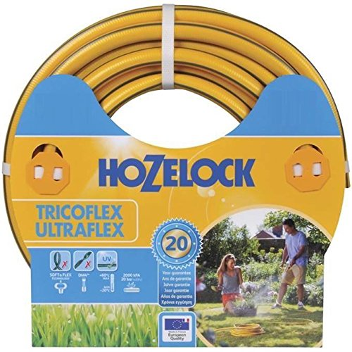 Hozelock 117042 Tuyau 50m diam 25mm Tricoflex Ultraflex