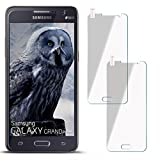 moex 2X 9H Panzerfolie für Samsung Galaxy Grand Prime | Panzerglas Display Glasfolie [Tempered Glass] Screen Protector Glas Displayschutz-Folie für Samsung Galaxy Grand Prime Schutzfolie