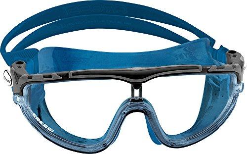 Cressi Skylight Erwachsene Schwimmbrille, Blau Nery/Schwarz, Large