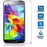 Protector de Pantalla para Samsung Galaxy S5 / S5 NEO Cristal Vidrio Templado Premium, Electrónica Rey®