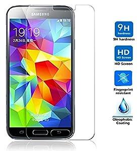 Protector de Pantalla para Samsung Galaxy S5 S5 NEO Cristal Vidrio Templado Premium Electr nica Rey
