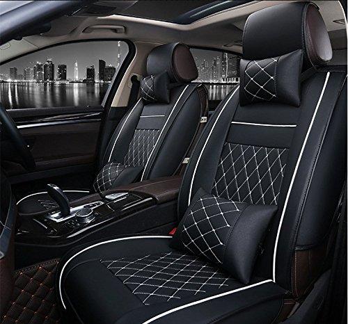 SHITI Coprisedile per auto per Phaeton Golf Passat R36 Touareg Scirocco Beetle CC Polo Tiguan