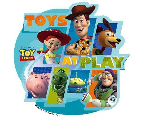 Toy Story at Play Edible Cupcake Toppers Decoration by DecoPac