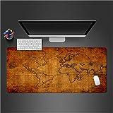 Pad mouse mouse pad per computer notte undici lettore gioco tastiera mouse pad 700x300x2