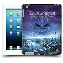 Official Iron Maiden Brave New World Album Covers Hard Back Case for iPad 3 / iPad 4