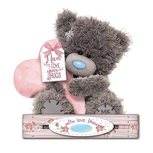 Me to You - 7'' Nan Teddy - Nan I love your hugs - Holding heart