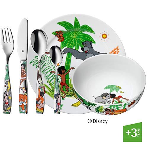 WMF Disney El Libro Selva - Vajilla niños 6 piezas