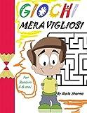 GIOCHI MERAVIGLIOSI: Quaderno per bambini con bellissimi animali da colorare e tanti giochi per divertirsi... (labirinti, differenze, crucipuzzle,ecc.)