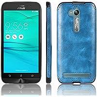 Funda Asus ZenFone Go ZB500KL, SunFay Asus ZenFone Go ZB500KL Funda Gel Silicona Flexible TPU Ultra Suave Carcasa Protectora de Gel Premium para Asus ZenFone Go ZB500KL - Azul