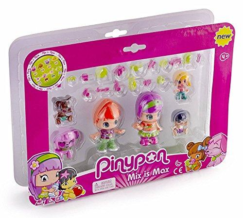 Pinypon Pack de 6 figuras bebés (Famosa 700014086)