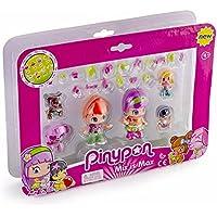 Pinypon - Pack de 6 figuras Pinypon y bebés (Famosa 700014086)