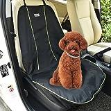 Go Wild Wasserdicht Antistatisch Pet Car Front Sitzbezug Hund Katze Welpen Sitz Schutz Matte Decke Schwarz