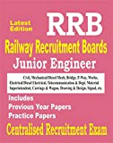RRB 2018 : Junior Engineer: Civil Engineering For Centralised Recruitment Exam & Practice Papers